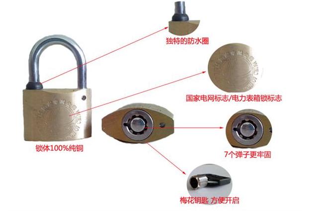 生产利德表箱锁,塑钢表箱锁,梅花表箱锁,全铜表箱锁/厂家/价格/型号/特点/优点